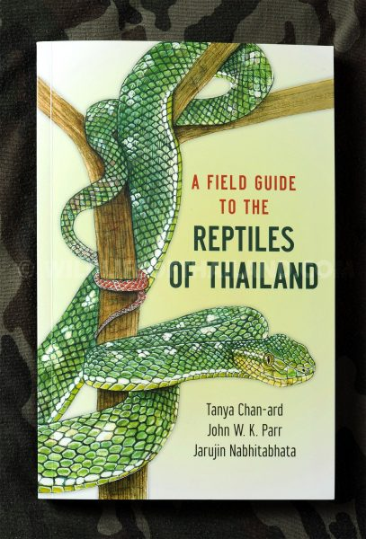 Cover of A Field Guide to the Reptiles of Thailand Tanya Chan-ard
