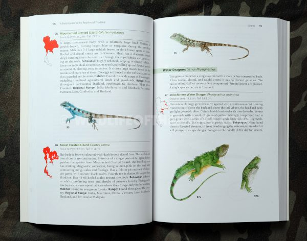 Plates of A Field Guide to the Reptiles of Thailand Tanya Chan-ard